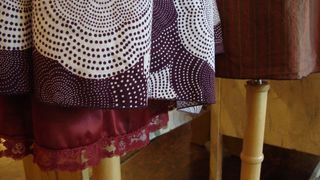 Kara line december cottons detail