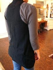 Line Vest Back