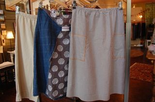Crop Pant, Elastic Skirt, and Pocket Skirt