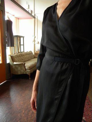 Humanoid black dress