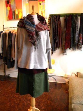 Alma tunic, seam skirt with 360