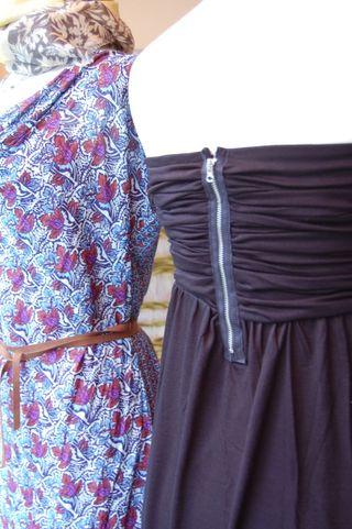 Julie Park and Velvet Dresses 2