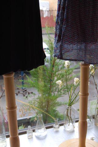 Julie Park and Velvet Dresses 3
