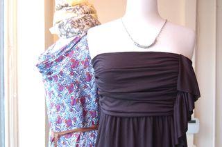 Julie Park and Velvet Dresses 1