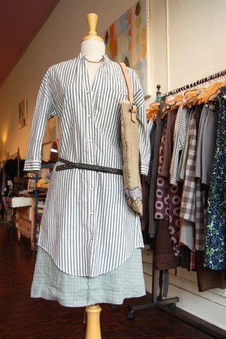 Seam skirt with tylho tunic