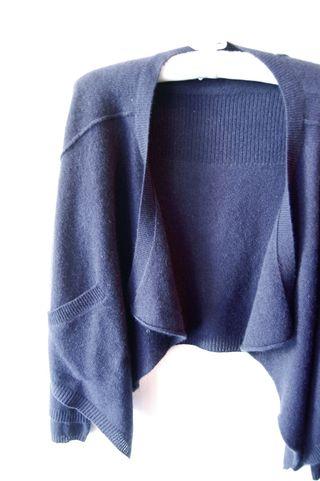 360 navy cashmere
