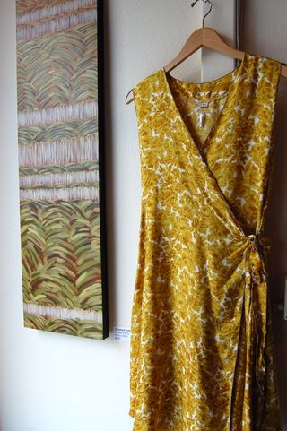 Yellow rose silk
