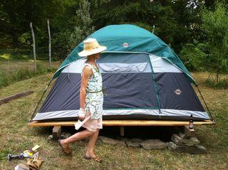 Camp in kara-line