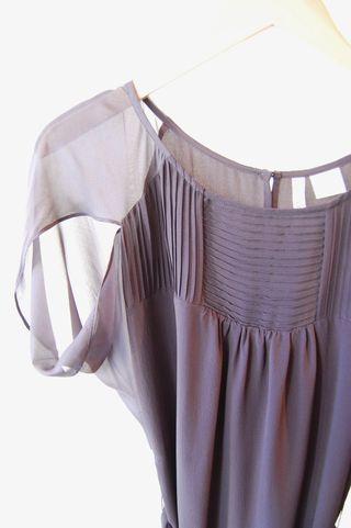 Covet Silk Dress Detail