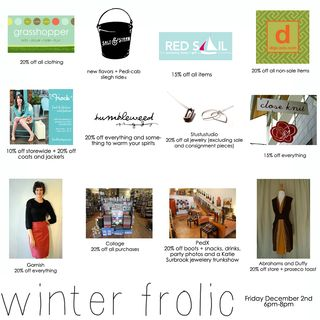 Winter frolic-stores