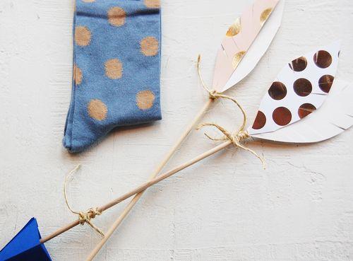 Blue_polka_sock